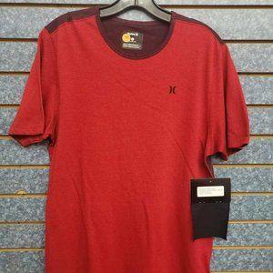 Hurley Santa Cruz Knits Crew Red T-Shirt Sz M
